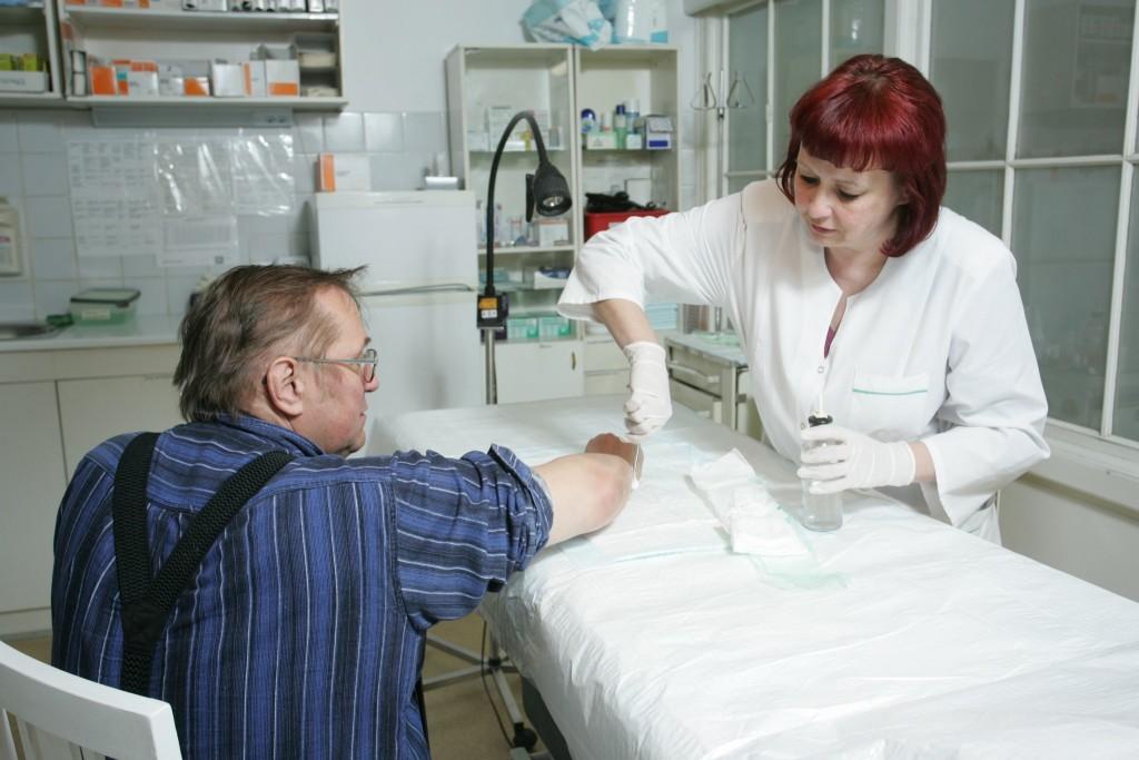 Лечение ран и травм