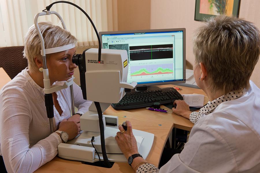 Интраокулярная оптическая когерентная томография – ОКТ