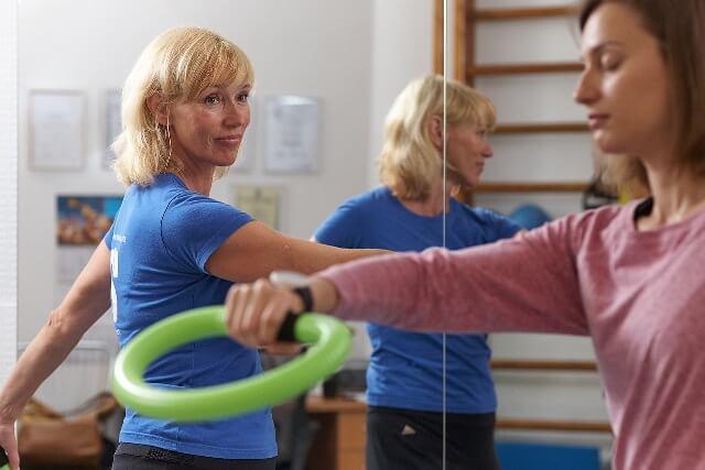 Fizioterapija ar Smovey riņķiem!