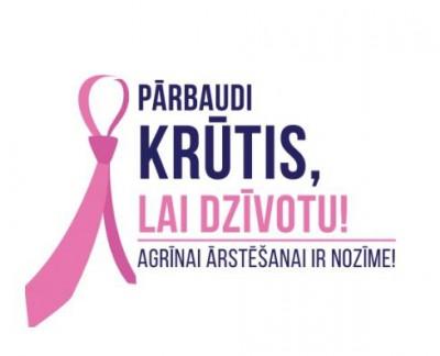 12. un 19. jūnijā tiek veikti kombinētie krūts dziedzeru izmeklējumi
