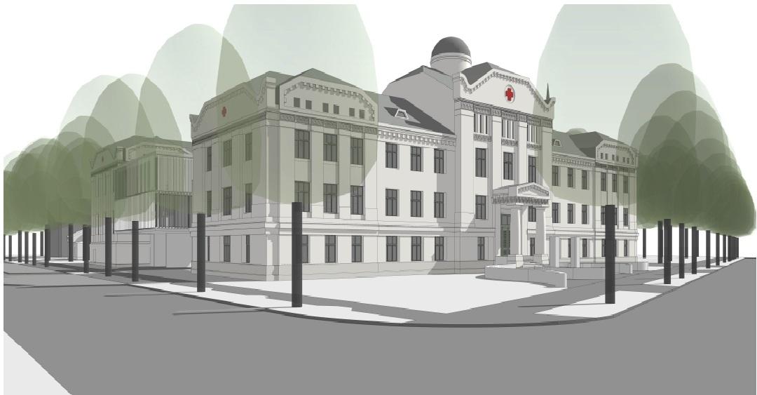 ARS sāk izbūvēt pirmo privāto daudzprofilu slimnīcu Latvijā