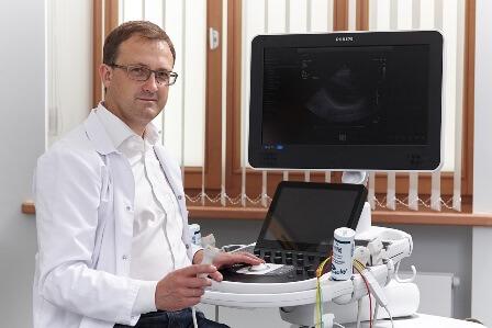 Jauns speciālists – kardiologs un ehokardiogrāfijas speciālists Dr. Ainārs Rudzītis