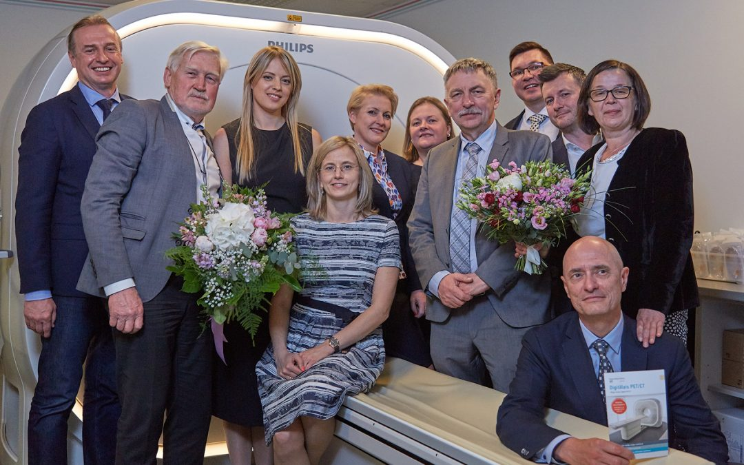 ARS Diagnostikas klīnikā iepazīstina ar Baltijā pirmo digitālo PET/CT iekārtu