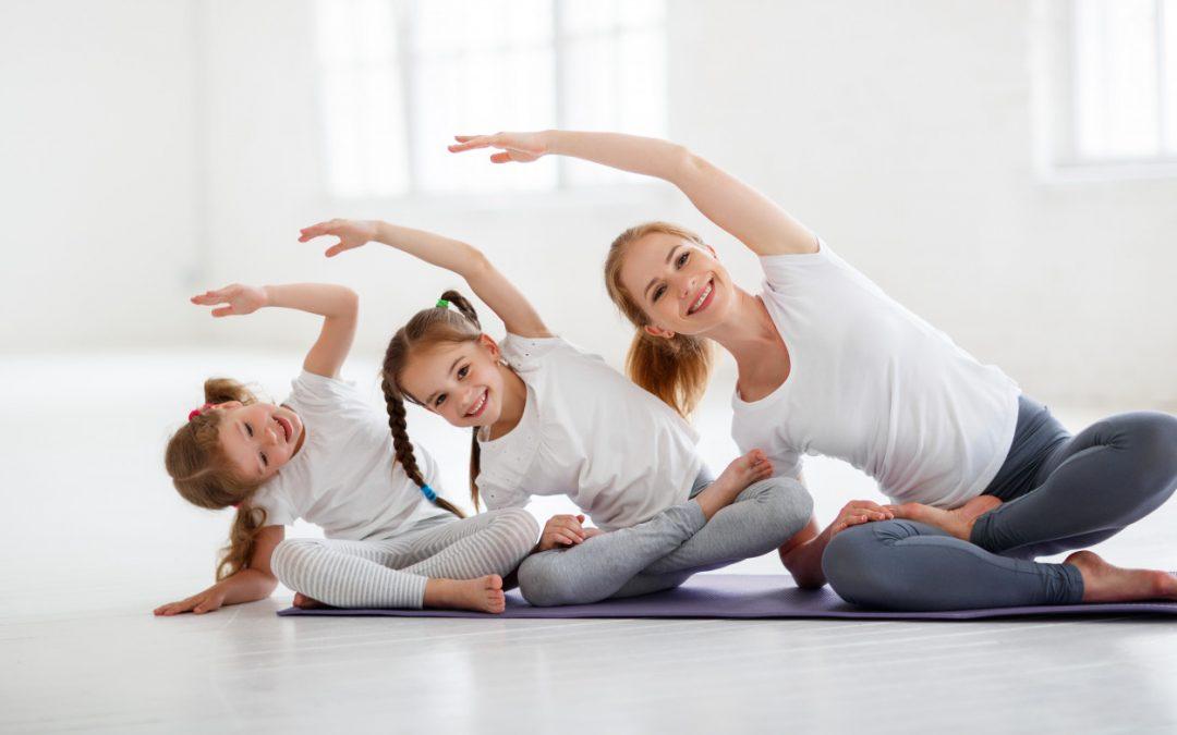 Bērniem – ārstnieciskās vingrošanas grupu nodarbības